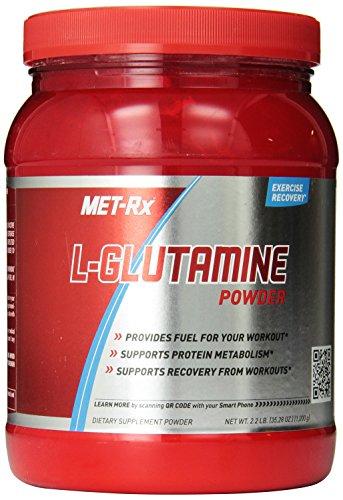 MET-Rx L-Glutamine Powder, 1,000 gram