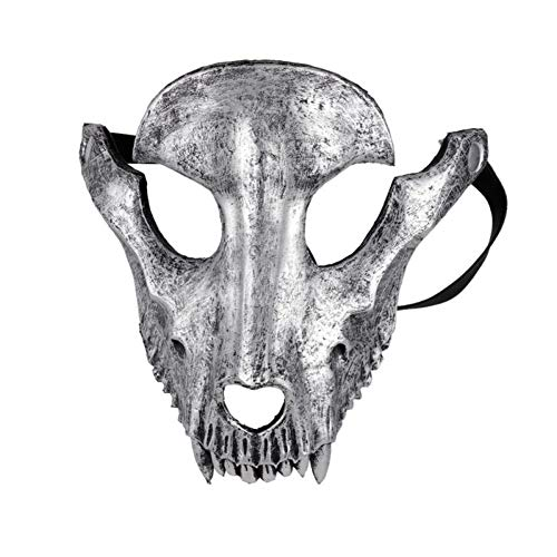 Disfraces De Terror En Halloween (GAJSDJHN Mask Mascaras Disfraces Festival Day of The Dead Halloween Party Masquerade Creepy Horror Terror Scary Costume Skull)
