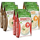 6 x Slendier Bio Fitness Probierpaket: 2 x Fettuccine-Style 250g, 2 x Spaghetti-Style 250g, 2 x Rice-Style 250g - Bio