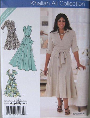 Simplicity Khaliah Ali Collection 2981 Size FF 18w - 24w ()