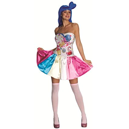 Amazoncom Katy Perry Candy Girl Adult Costume Adult Sized
