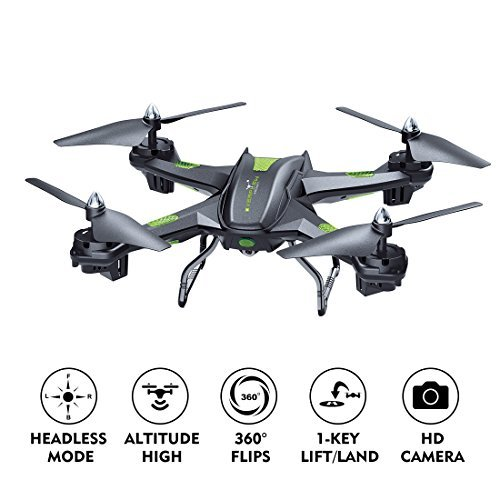 LBLA FPV Drone with Wifi Camera Live Video Headless Mode 2.4GHz 4 CH 6 Axis...