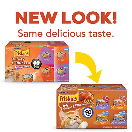 Purina Friskies Wet Cat Food Variety Pack 3