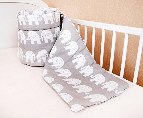 Tour de lit Nid Tête Protection Tour de lit 420 x 30 cm, 360 x 30 cm ...