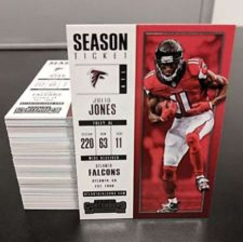 2017 Panini Contenders Football Complete Base Season Ticket Set 1 - (Ticket Base)