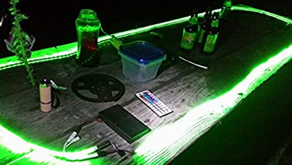 Amazon camping battery operated led strip light kit 16 ft camping battery operated led strip light kit 16 ft 44 key remote control aloadofball Gallery