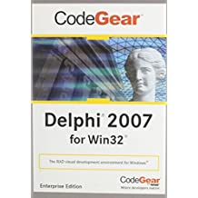 Delphi 2007 Win32 Ent New User  DVD