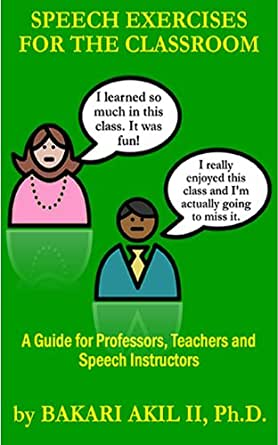 Amazon.com: Speech Exercises for the Classroom: A Guide for ...