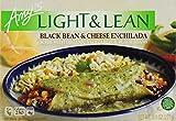 Amy's Light & Lean, Black Bean & Cheese Enchilada, 8 Ounce (Frozen)