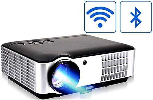 TK-show Home proyector 3D HD teléfono móvil WiFi 4K inalámbrico ...