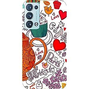 Joe Designer Printed Back Case Cover for Oppo Reno 6 Mobile (Multicolor) art128