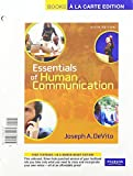 Essentials of Human Communication, Books a la Carte Plus MyCommunicationLab CourseCompass (6th Edition)