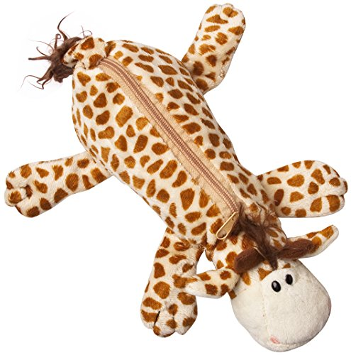 Plush Cartoon Fluffy GIRAFFE Animal Pencil Case, Pen Bag