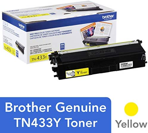 Brother Cartridge TN433Y Replacement Replenishment product image