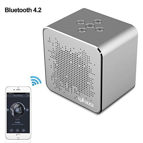 Aolvo Mini Portable Wireless Bluetooth 4.2 Speaker with Big