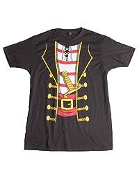 Pirate Buccanneer | Jumbo Print Novelty Halloween Costume Unisex T-shirt