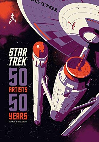 Star Trek: 50 Artists 50 - Star Art Trek