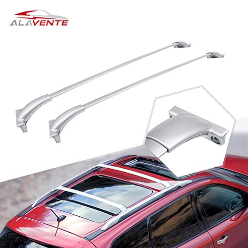 ALAVENTE Bolt-On Roof Rack Cross Bars for 2013 2014 2015 2016 2017 Nissan Pathfinder (Pack of 2, Silver)