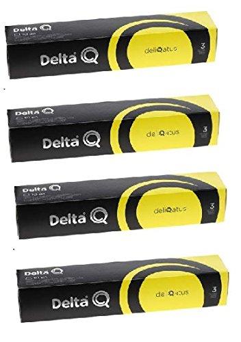 Capsulas Delta Q Deliqatus 40 Unidades: Amazon.es: Hogar