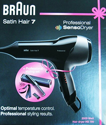 Braun Satin Hair 7 HD 780 SensoDryer Holiday Edition (220V Not for use in the USA)
