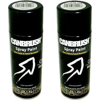 Canbrush Lot De 2 Bombes De Peinture Pour Plastique Métal Bois
