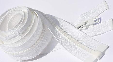 18,20,22,24,30,36,48 10 pc Invisible YKK zipper white