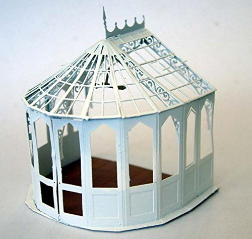 - Langley Models Victorian Style Conservatory OO Scale UNPAINTED Model Kit F130