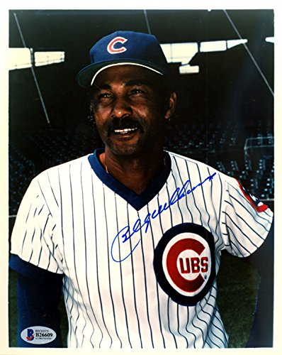 Billy Williams Autographed 8x10 Photo Chicago Cubs Beckett BAS #B26609