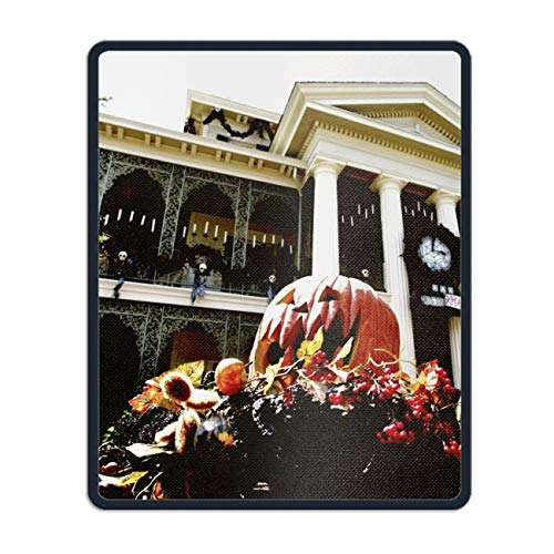(Holiday Halloween Pumpkin Mouse Pad - Portable Cloth Gaming Mouse Mat - Game on The Go)