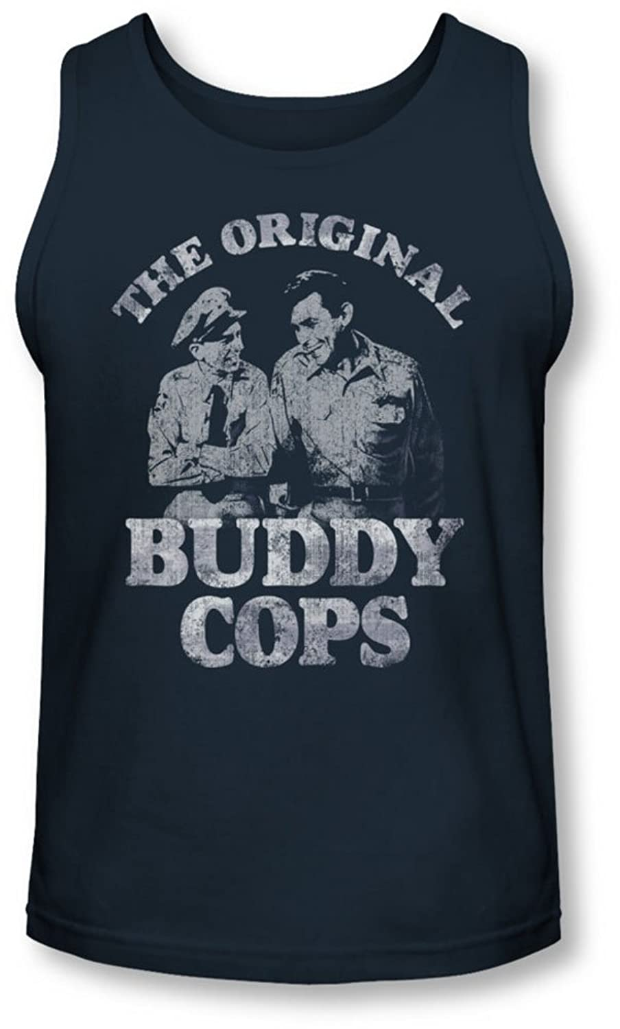 Andy Griffith - Mens Buddy Cops Tank-Top