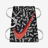 NIKE YA Graphic Gymsack (One Size, Black/White/Bright Crimson)