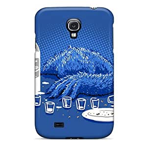 Faddish Phone Cookie Monster Milkd Case For Galaxy S4 / Perfect Case Cover