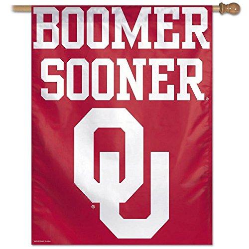 WinCraft Oklahoma Sooners Boomer Sooner House Flag