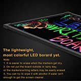 """Voilamart LED Message Writing Board, 24"""" x"""
