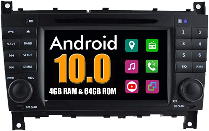 Roverone Android System Car Dvd Player For Mercedes Benz Clk W209 W219 W46 With Multimedia Stereo Gps Navigation Radio Bluetooth Usb Mirrorlink Navigation Car Hifi