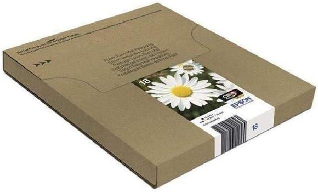 Epson Orginal 18 Tinte Gänseblümchen Xp 305 Xp 402 Xp 215 Xp 312 Xp 315 Xp 412 Xp 415 Xp 225 Xp 322 Xp 325 Xp 422 Xp 425 Easymail Verpackung Multipack 4 Farbig Bürobedarf Schreibwaren