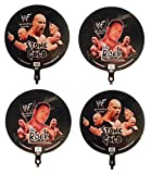 4 WWF 18'' Mylar Balloons - 2 The Rock and 2 Stone Cold