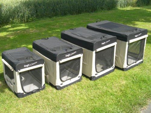 songmics hundebox transportbox faltbar oxford gewebe 60 x. Black Bedroom Furniture Sets. Home Design Ideas