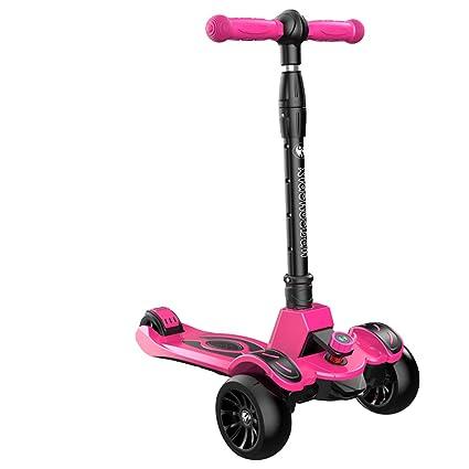 Patinetes Portátil para niños Kick Scooter, niño y niña en ...