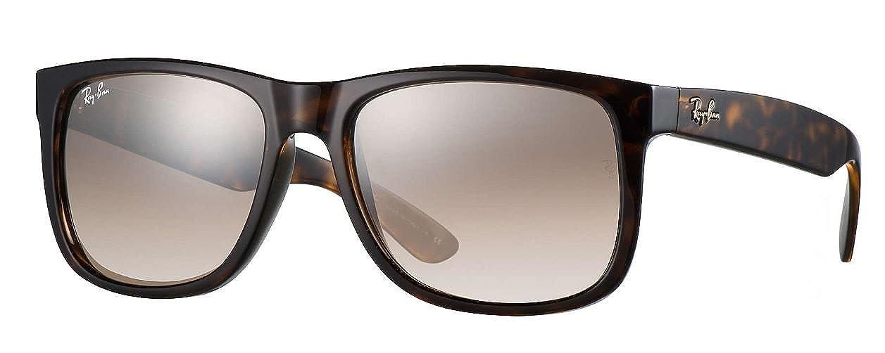 85a2a08259 Amazon.com  Ray-Ban Justin RB 4165 710 3D Havana Sunglasses  Clothing