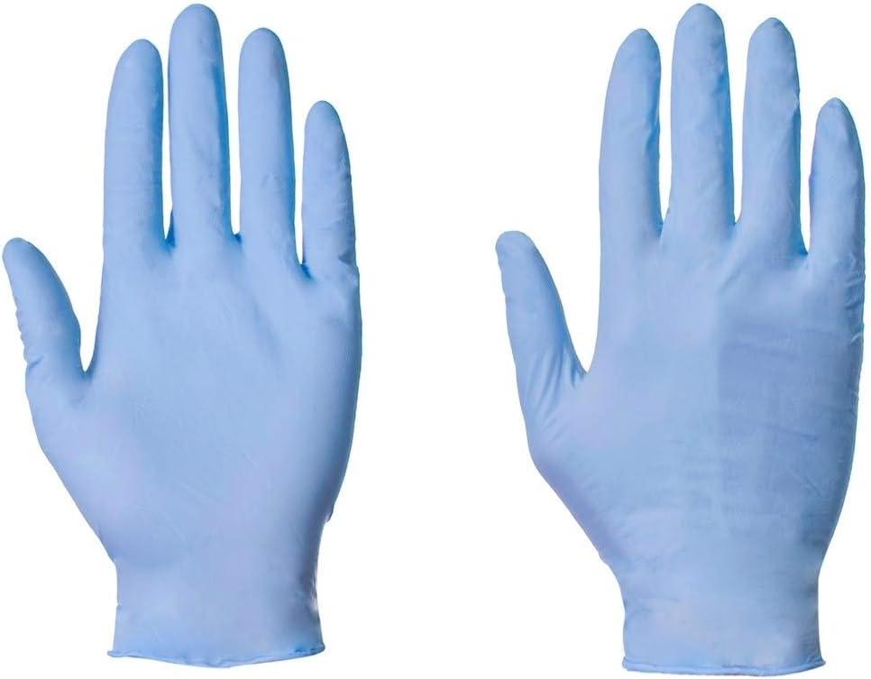 etc. petit pour aliments m/édicaux Lot de 100 gants jetables en nitrile latex et sans poudre