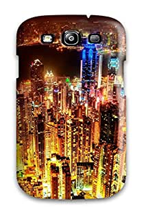 Ultra Slim Fit Hard Case Cover Specially Made For Galaxy S3- City