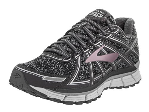 Metallic Adrenaline Gts Charcoal Gold Black Women's Rose 17 Brooks AqwvSF
