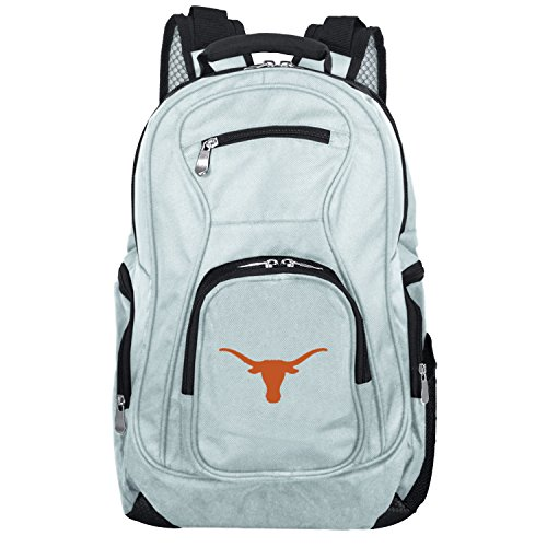 - NCAA Texas Longhorns Voyager Laptop Backpack, 19-inches, Grey