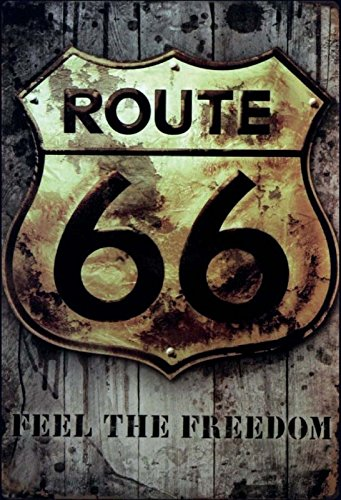 Cartel de Chapa genérica 20 x 30 cm Route 66 Feel The ...