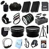 ULTRA PROFESSIONAL ACCESSORY PACKAGE: for Pentax K-30, K-50, K-500 SLR Camera
