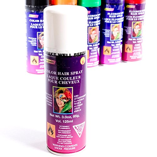 Rubie's Costume Co White Color Hair Spray (White Hair Paint)