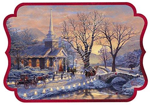 (Hallmark Boxed Holiday Cards: Holiday Evening Sleigh Ride by Thomas Kinkade)