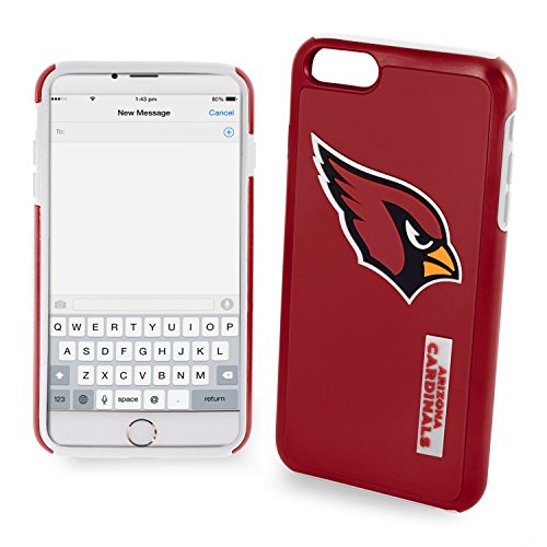 Forever NFL Arizona Cardinals iPhone 6 Plus Dual Hybrid Case (2 Piece), ()