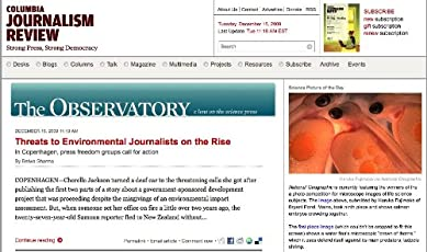 Columbia Journalism Review's The Observatory